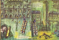 Ludwig Bemelmans The best vintage book illustrations lovingly curated at vintagebookillustrations.com