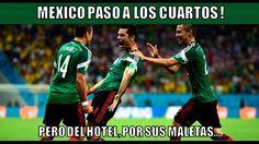 Memes: Eliminación de México, Mundial Brasil 2014 http://www.listasde10.com/2014/07/los-mejores-memes-el-mexico-holanda.html