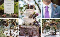 Caída piña ideas de la boda y decoraciones de madera