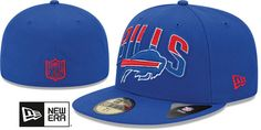 Bills NFL 2013 DRAFT Royal 59FIFTY Fitted Hat by New Era on hatland.com