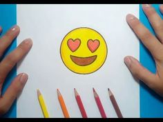 Como dibujar un Emoji paso a paso 5 | How to draw an Emoji 5 - YouTube Emoji 2, Real Soccer, Cute Kawaii Drawings, Simple Doodles, Easy Drawings, Doodle Art, Chibi, Cartoon, Stickers