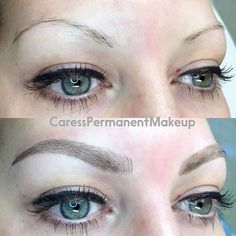 Thin brows? No problem! Amazing transformation for this beauty!