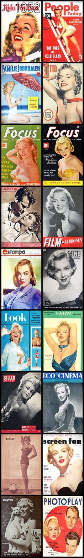 Marilyn Monroe Covers 1952