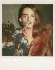 """ Ulay Polaroid from his works Renais sense, Gender and Over Doing 1973 """