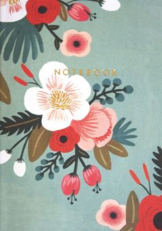 Botanicals Notebook Collection By Rifle Paper Co. Flower Patterns, Print Patterns, Diy Tapete, Posca Art, Illustration Blume, Motif Floral, Annie Sloan Chalk Paint, Floral Illustrations, Papers Co