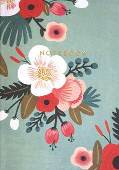 Botanicals Notebook Collection By Rifle Paper Co. Diy Tapete, Posca Art, Illustration Blume, Motif Floral, Annie Sloan Chalk Paint, Floral Illustrations, Flower Art, Watercolor Art, Print Patterns