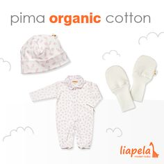 The softest clothing for your baby! Like on Instagram @LiapelaModernBaby