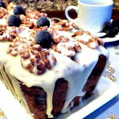 Кекс ореховый с черной смородиной Вафли, Чизкейк, Завтрак, Десерты, Рецепты, Еда