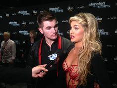 """For next week's """"Most Memorable Year"""" on #DWTS, @alekskarlatos picked 2015. What a year he's had! @lindsayarnold"""