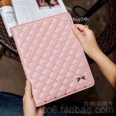 Cute quilted ipad mini case