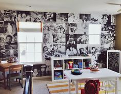 Project Nursery - Photo Wall in Playroom,  Mindy Newton Photography #photowall #projectnursery