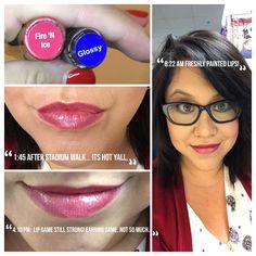 Fire n Ice LipSense! Love my long-lasting lips!  Pucker Up! Amber Duncan- distributor 270962