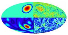 """Our cosmos was """"bruised"""" in collisions with other universes. Now astronomers have found the first evidence of these impacts in the cosmic microwave background. Theoretical Physics, Quantum Physics, Cosmos, Cosmic Microwave Background, The Beginning Of Everything, Parallel Universe, Astrophysics, Dark Matter, Yellow"""