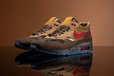 CLOT x Nike Air Max 1「K.O.D. - Cha」全新聯名鞋款正式登場 | HYPEBEAST Air Max 1, Nike Air Max, Kiss Of Death, Brown Shoe, Hypebeast, Footwear, Sneakers, Products, Tennis