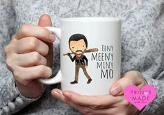 Eeny Meeny Miny Mo mug walking dead themed by PrintsmadewithLOVE