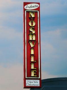 Noshville, an authentic New York style delicatessen. Fabulous food! Midtown, Green Hills, Nashville Airport
