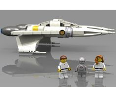 LEGO Ideas - Buck Rogers Thunderfighter