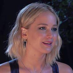Gorgeous Jennifer Lawrence wearing EFC diamond black onyx dagger drop earrings while promoting The Hunger Games: Mockingjay, Part 2!  Xo, EF #efcollection #jenniferlawrence #blackonyx #daggerdropearrings #thehungergames #mockingjaypart2 #katnisseverdeen @jillandjordan