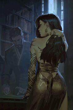 Dark Fantasy Art, Fantasy Girl, Fantasy Artwork, Fantasy Forest, Anime Fantasy, Sci Fi Fantasy, Fantasy Queen, Fantasy Town, Sci Fi Anime