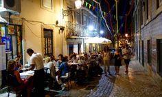 Lissabon Restaurant-Tipps: Gasse im Bairro Alto...