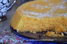 basboussa au citron pâtisserie orientale à la semoule et au citron,une tuerie!!