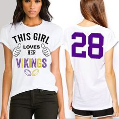 Minnesota Vikings shirt Minnesota Vikings jersey by LisaApparel