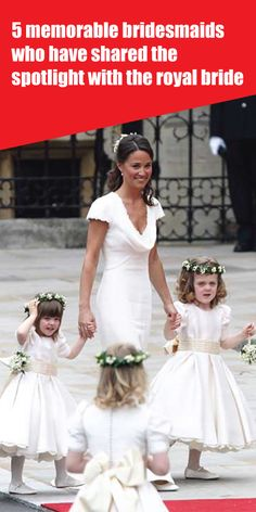5 memorable bridesmaids who have shared the spotlight with the royal bride Prince William And Kate, Prince Harry And Meghan, Marriage Age, Kate Middleton News, Meghan Markle News, Royal Family News, Meghan Markle Wedding, Royal Brides, Queen Elizabeth Ii