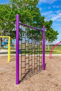 Children will love this climbing playground component! The Climbing Wall will make a great addition to any commercial playground and helps to develop core muscle groups.