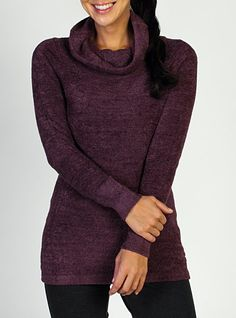 This is the softest sweater! LIKE HUGGING A CLOUD - Women's Irresistible Dolce™ Cowl Neck Sweater