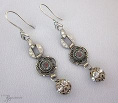 Repurposed Jewelry - One of a Kind Designs from JryenDesigns.etsy.com