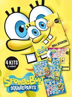 SpongeBob Square Pants Wall Stickers Part 60