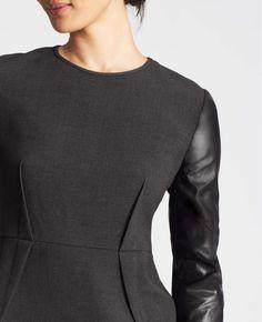 Wear netting sleeveless thing from downtown arlington under nordstrom Metro Peplum Top