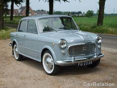 Fiat 1100 Special1961 - color grey - white wall tires #fiat #classiccar #carrelation      Kleurblauw/grijs  Bouwjaar1961