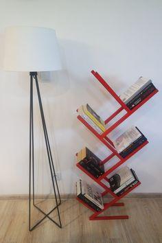Modern bookcase MOKO amazing frame painted or by mashokostudio