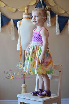 Homegrown Tank Pattern Knit Woven Sewing by littlelizardking, $10.25