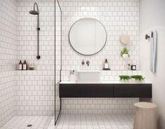 Rivestimento doccia piastrelle diamantate bianche bagno