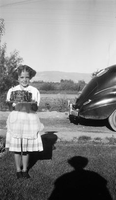 Here's Rita with the Cake of Secret Ingredients. Does anyone recall who the intended victim, er, recipient was? Today Is Your Birthday, Happy Birthday Me, Birthday Fun, Birthday Greetings Friend, Birthday Wishes, Vintage Family Photos, Vintage Photographs, Shadow Play, Vintage Birthday