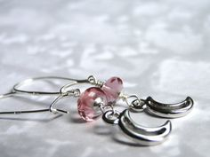 Jewelry Dangle Earrings Swarovski Crystal Earrings by wulfgirl, $27.00