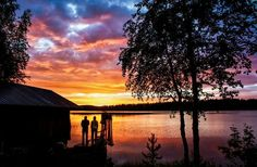 Sunset in Finland،،،،،،