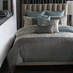 Bryan Keith Bedford Reversible Comforter Set