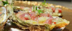 Tartar de ostras y atún rojo, receta - El Aderezo - Blog de Recetas de Cocina