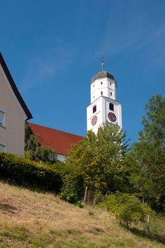 Vöhringen an der Iller-Illerberg, Pfarrkirche St. Martin (Neu-Ulm) BY DE