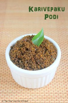 A typical south Indian meal is incomplete without a Podi (spicy powder).We prepare various podi varieties ,while few are paired with br. Andhra Recipes, Pakora Recipes, Indian Food Recipes, Dog Food Recipes, Vegetarian Recipes, Cooking Recipes, Healthy Recipes, Side Recipes, Clean Recipes