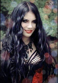 Black hell Goth - Very pretty