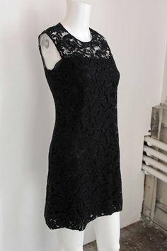 PRADA  Black Lace Prada Dress