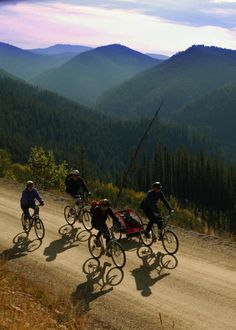 Bike the Bitterroot Mountains - Idaho's Route of the Hiawatha Trail. Loved taking the kids here ( ; Hiawatha Trail, Sea To Shining Sea, Mountain Bike Trails, Coeur D'alene, Weekend Trips, Pacific Northwest, Idaho, Places To See, Photo Galleries