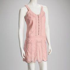 Drop Waist Pink Dress