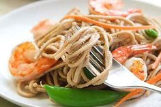 Stir fry meals are one of the healthiest options available because they are usually loaded with veggies and whole grains. This shrimp stir fry is sure to be a hit!