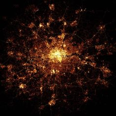 London from Space, wow. #london www.cushiontheimpact.co.uk