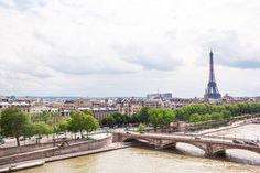 Bonjour Paris! It's about time to plan a weekend getaway.
